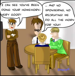 The Ruggburns Episode 4 work at home business opportunity comic network marketing